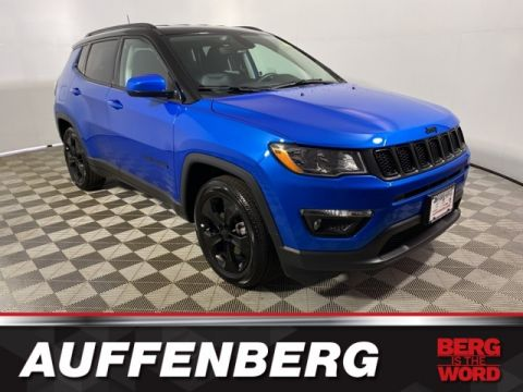 Certified Pre-Owned 2020 Jeep Compass Latitude